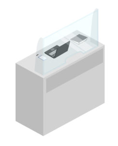 Защитные экраны для офиса